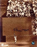 Willie Mays Autographed 8x10 Photo