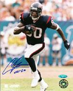Andre Johnson Autographed Memorabilia