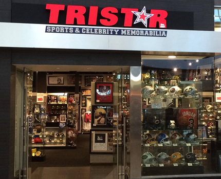 TRISTAR Sports Memorabilia - Miracle Mile Shops
