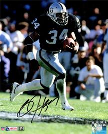 Bo Jackson Autographed Memorabilia